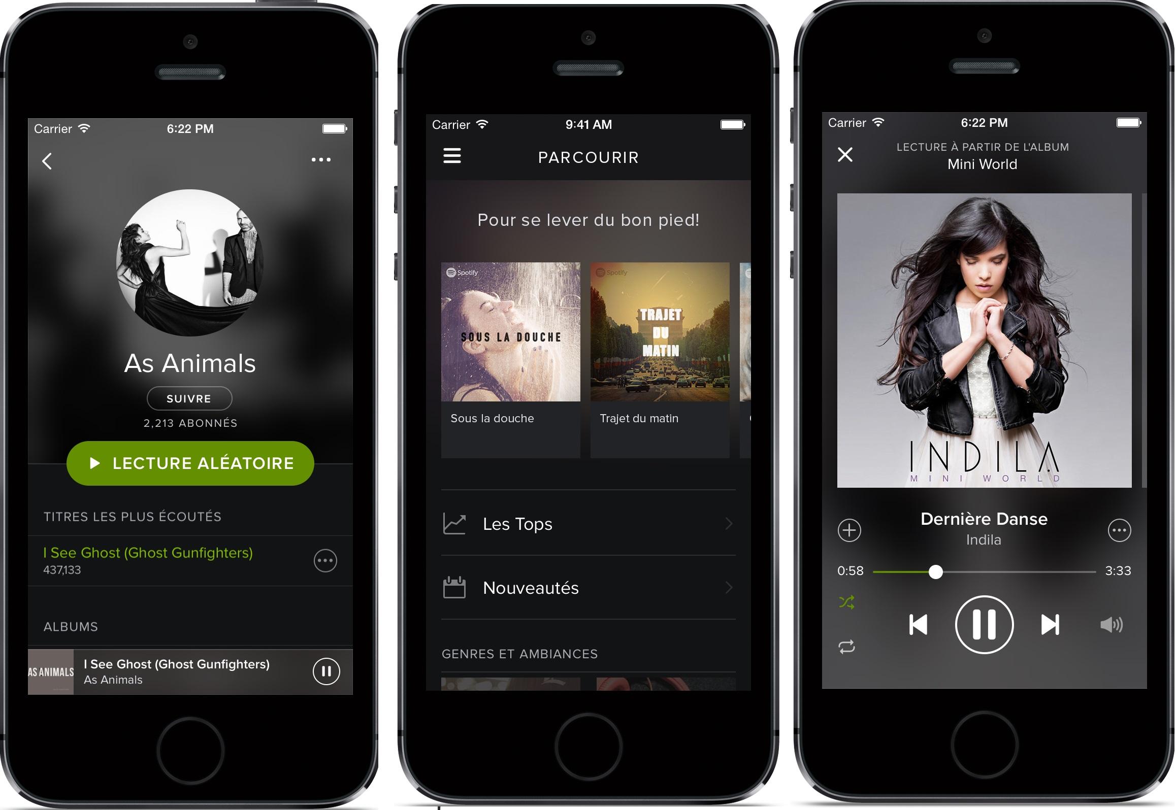 Escucha tu música favorita donde quieras con Spotify Music 2